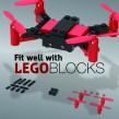 """Lego Type"" Block Camera Drome"